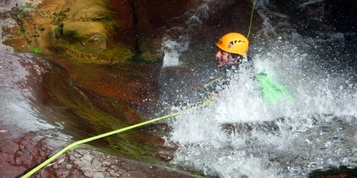 Stage canyoning perfectionnement